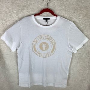NWT Frye Logo Graphic T-Shirt